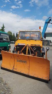 Unimog 1300 mit Winterausstattung