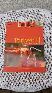 Neues hochwertiges modernes Kreativ-Buch Partyzeit