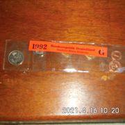 Kursmünzen 1992 G Stempelglanz