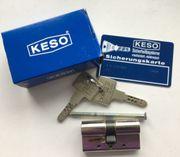 Schließzylinder KESO 10 RS - Profil-Doppelzylinder