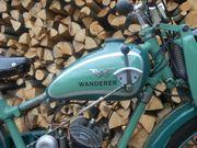 Oldtimer Zweirad Wanderer 98 ccm
