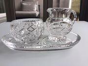 Bleikristall 3-teiliges Set Milch Zucker