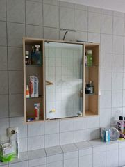 Spiegelschrank - Badezimmer - Badschrank - Schnäppchen