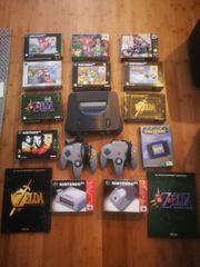Nintendo 64 plus Zubehör
