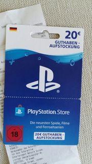 PSN Cards 2x 10 Euro