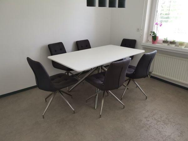Esstisch mit 6 Stühle