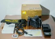 NIKON Vollformat DSLR Kamera D750