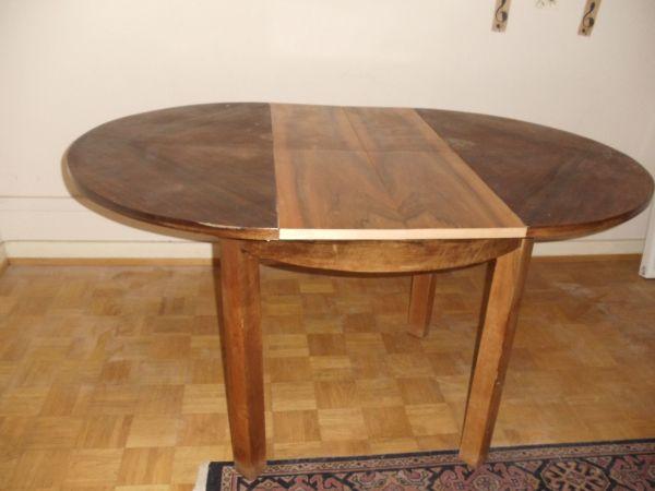 Runder Tisch Ausziehbar Antik In Bretten Sonstige Möbel