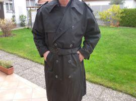 Mantel Trenchcout / Lodenkappe / Da- Baker Boy Hat / warme Mütze