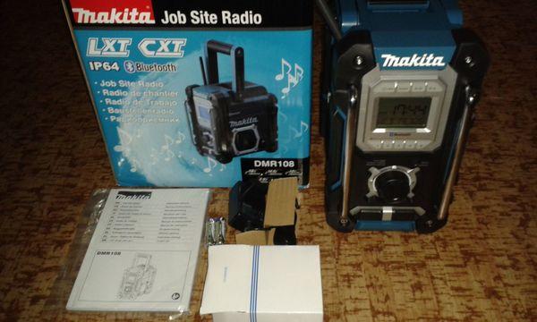 Makita DMR 108B Baustellenradio RDS
