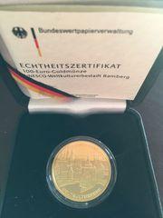 100 Euro Gold Deutschland Stadt