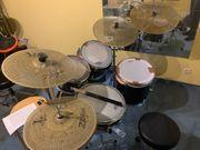 Low volume leises Schlagzeug