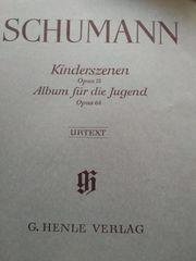 Klaviernoten Pianobuch Orgelheft Schumann Kinderszenen