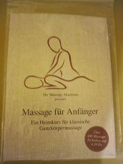 DVD Massage für Anfänger