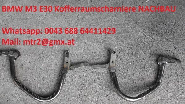 BMW M3 E30 Scharnier Heckklappe