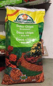 Gartenzubehör Deko Chips Mahagoni 5