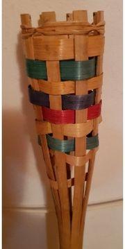 Bambus-Fackeln