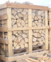 Buchen Brennholz Kaminholz Scheite trocken