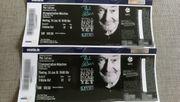 2 x Tickets Sitzplätze Konzert