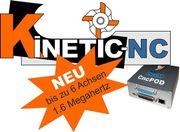 CNC-Steuerungssoftware Frässoftware KinetiC-NC für CNC