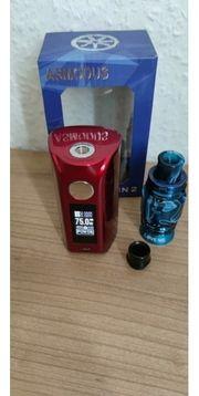 Asmodus Minikin V2 Rot Metallic