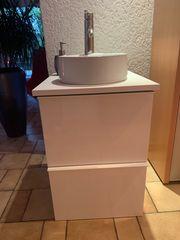 GODMORGON-Waschbecken von Ikea kompl mit