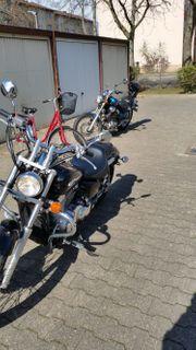 VERKAUFE Motorrad Honda VT 750