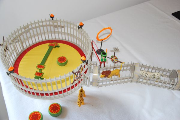 Playmobil Zirkus - Raubtierdressur- und Wagen