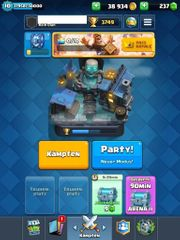 Clash Royale Account Lvl 10