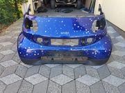 Smart 450 Cabrio Front Blau