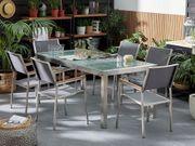 Gartentisch Crashglas 180 x 90
