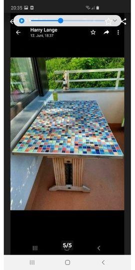 Bild 4 - Balkontisch Pfaff Nähmaschinen Tisch mit - Ebersberg