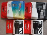 Druckerpatronen Canon Pixma 525 und