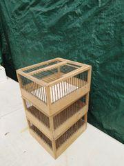 Transportboxen für Vögel