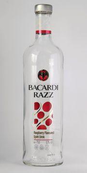 Bacardi Razz Flasche 0 7