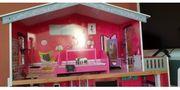 Puppen Barbie Haus aus Holz