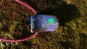 opal anhanger seitlich gebohrt