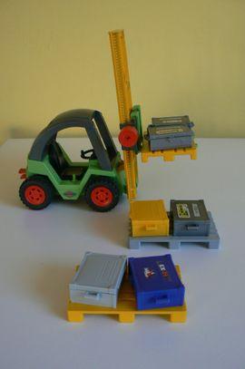 Spielzeug: Lego, Playmobil - PLAYMOBIL Gabelstapler Zubehör 3003