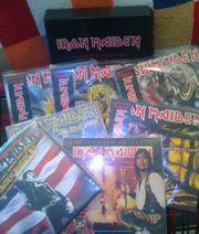 IRON MAIDEN LP BOX