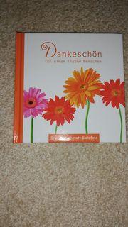 Minibuch Dankeschön