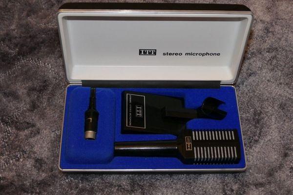Mikrophon Marke ITT 70er oder