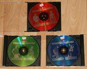 3 x CD-ROM - PC-Spiele-Sammlung - Games für