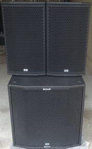 Lautsprecheranlage Aktivboxen KS Sat 3