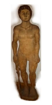 For Sale Wood Sculpture The