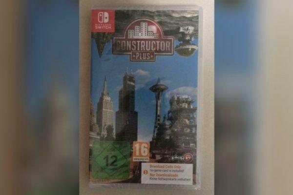 Nintendo Switch Spiel Constructor Plus