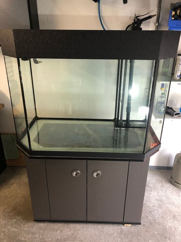 Aquarium 447L mit Technikbecken Unterschrank