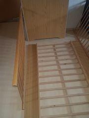 2 Kinderbetten buche 70x140 cm