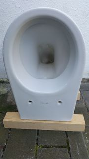 Wand WC Sitz