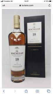 macallan 18 Sherry oak 2019