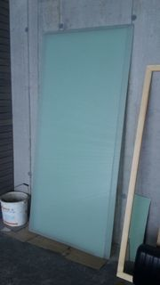 Glas Rauchglas 210 x 90